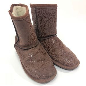 BearPaw Brown Boots 9